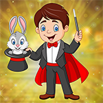 Games4King -  G4K Happy Strenuous Magician Escape Game