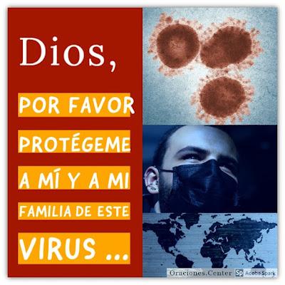 Oración por la Pandemia Protección y Sanidad de Divina