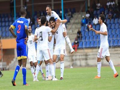 منتخب مصر, مباراة ودية, الإمارات,