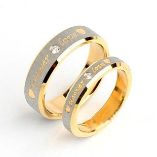 cincin tunangan silver