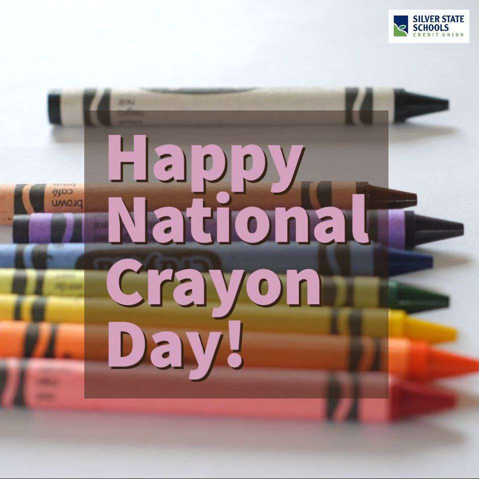 National Crayon Day Wishes Pics