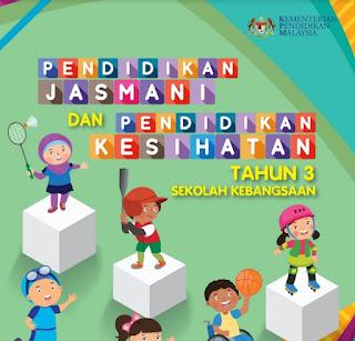 Buku Teks Digital Pendidikan Jasmani Dan Kesihatan SK Darjah 3 PDF Tahun 2021