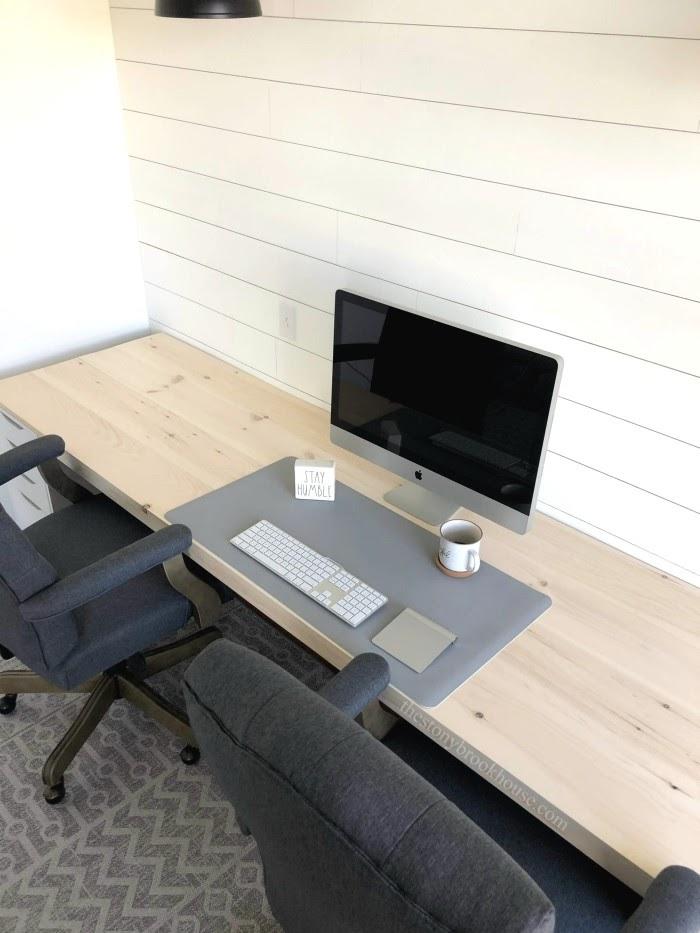 Building A Farmhouse Office Desk