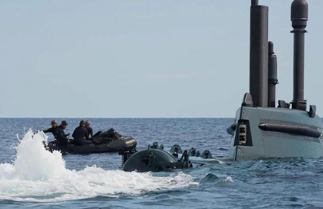 [feature] Submarino italiano con dry deck shelter