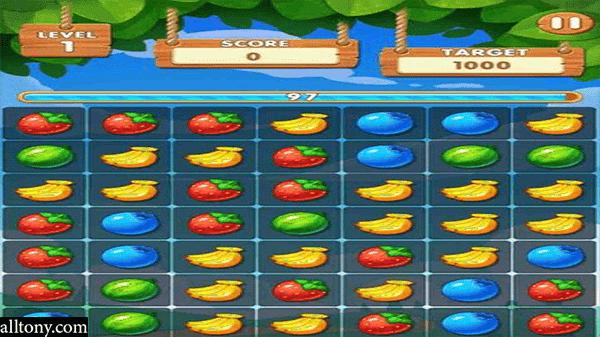 تحميل لعبة الفواكة Fruit Splash للآيفون والأندرويد