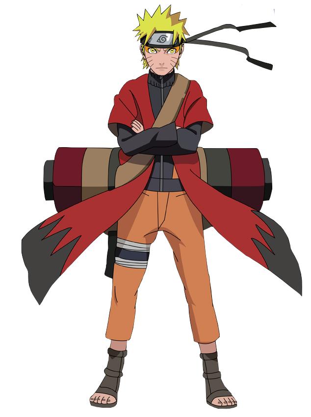 Gambar Naruto Uzumaki mode sage