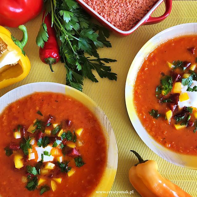 Bardzo aromatyczna zupa bez cebuli i czosnku