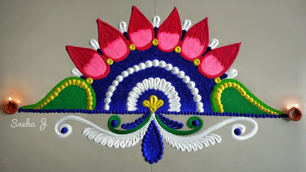 Kolam Design Images