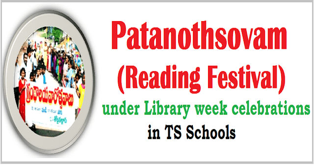 Patanothsovam,Reading Festival,Library week celebrations