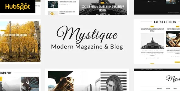 Best Hubspot Theme for Blog and Magazine