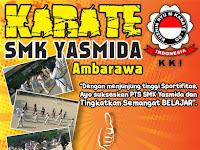 Design Ucapan Selamat Ujian Oleh Eskul Karate SMK Yasmida