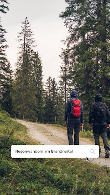Regenwandern im Brandnertal  Furkla Höhenweg + Kesselfall 20