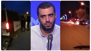 خطير... محاولة الفرق الأمنية إلقاء القبض على راشد الخياري باحدى المنازل طريق الافران كلم 2 صفاقس و لكن......