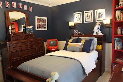 Peach Street S Blog A Star Wars Themed Big Boy Room