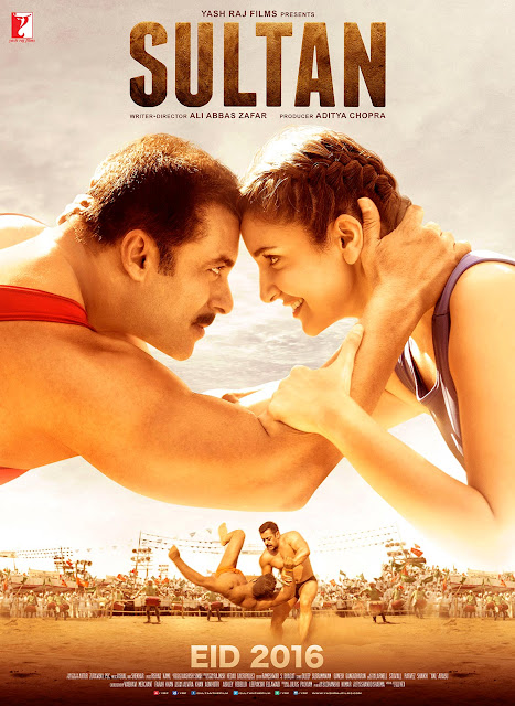 Sultan, Movie Poster, starring Salman Khan, Yash Raj Films, Directed by Ali Abbas Zafar