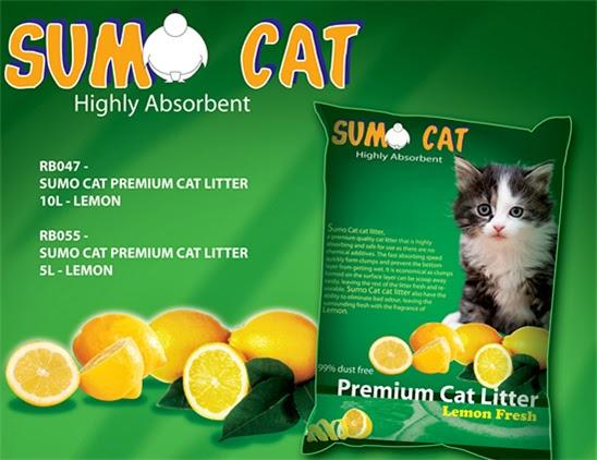 Review Pasir Kucing Gumpal Merk Sumo Cat Premium Litter Cat Radiokucing Com