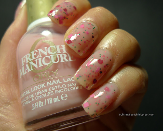 I Relish Nail Polish Go Pink Wednesday Candeo Colors Melonball