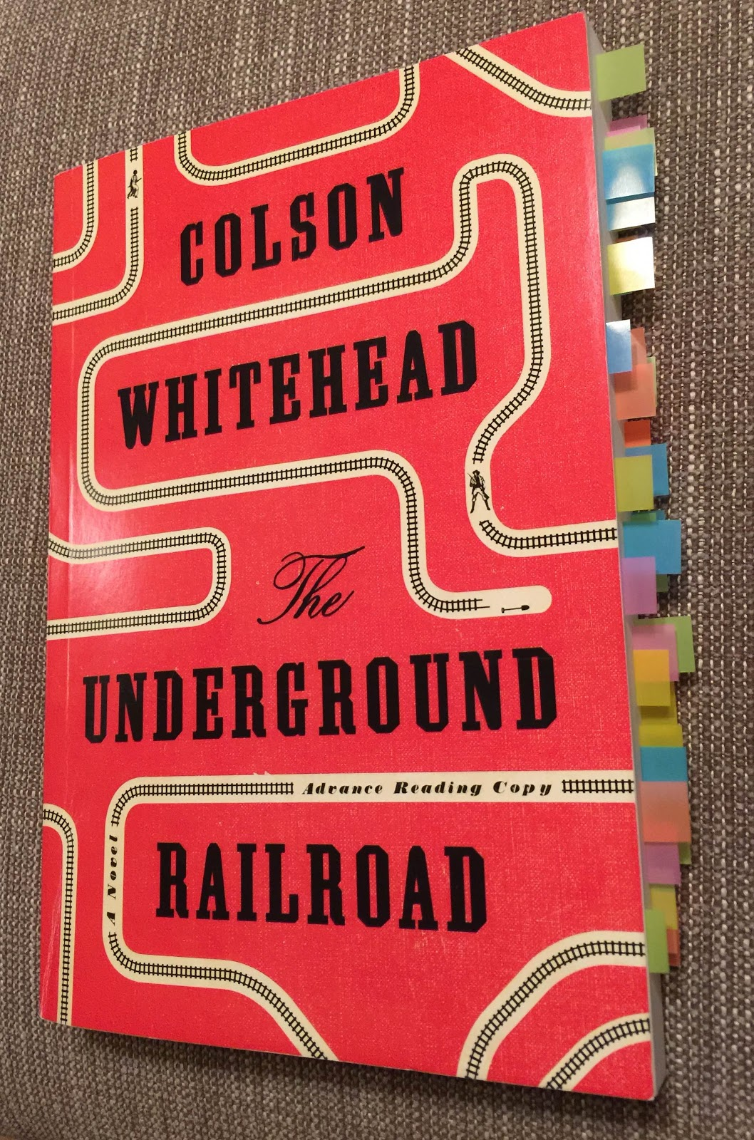 Monlatable Book Reviews The Underground Railroad By Colson Whitehead Review