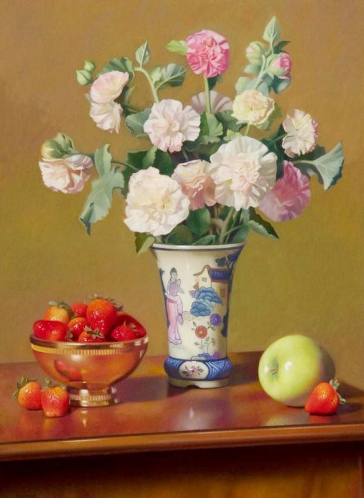 Cuadros modernos pinturas y dibujos cuadros modernos for Como pintar jarrones de ceramica