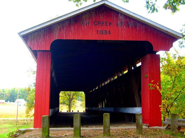 Otter Creek Covered Bridge - Holton, Ripley County, Indiana