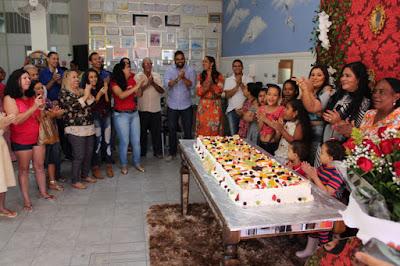 Brumado: Na companhia de familiares, colaboradores e amigos, Perinalva Dias celebra mais um aniversário