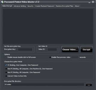 Password Protect Video Master 8.0 Full Version