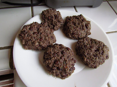 Black Bean Burger Patties