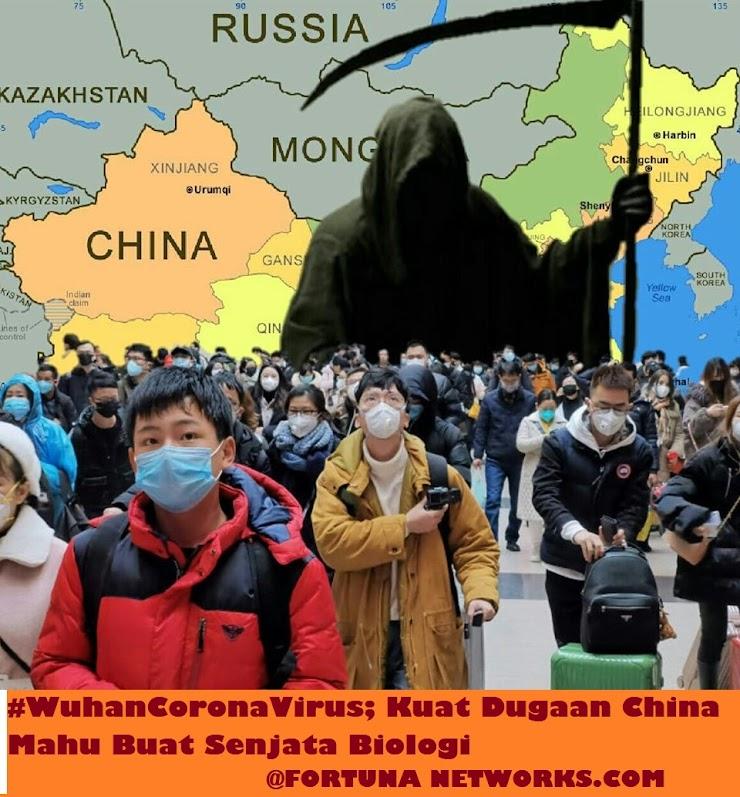 "#WuhanCoronaVirus ""Mungkinkah RRChina sedang dalam proses membuat senjata biologi?"""