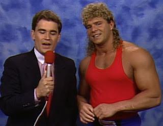 WCW Clash of the Champions XII - Tony Schiavone interviews Brian Pillman