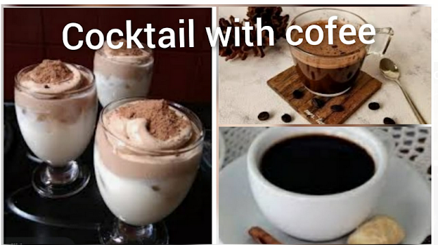 cocktail with coffee