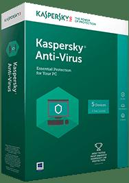 الأنتفيروس الأكثر تقثة Kaspersky Antivirus 2017