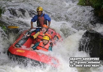 Rafting Situ Cileunca Bandung Selatan