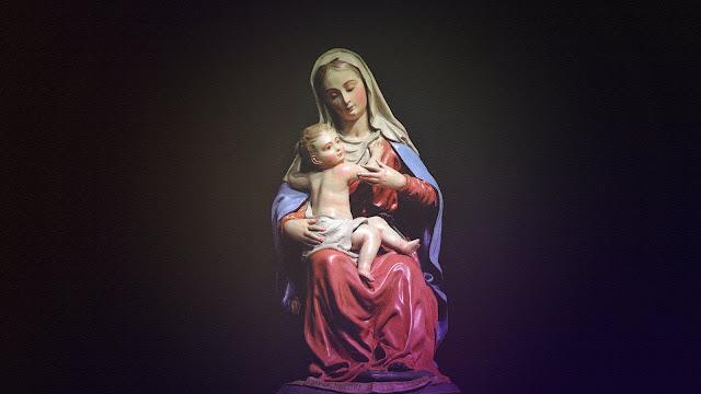Bunda Maria dan Bayi Yesus