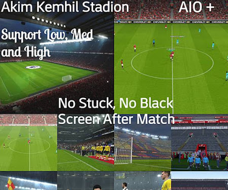 PES 2017 AK Stadium Pack 2020 AIO (No stuck)