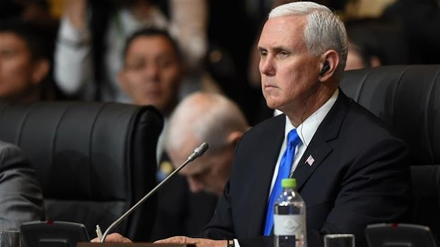 US Vice President Mike Pence threatens response to possible retaliatory moves by Syria