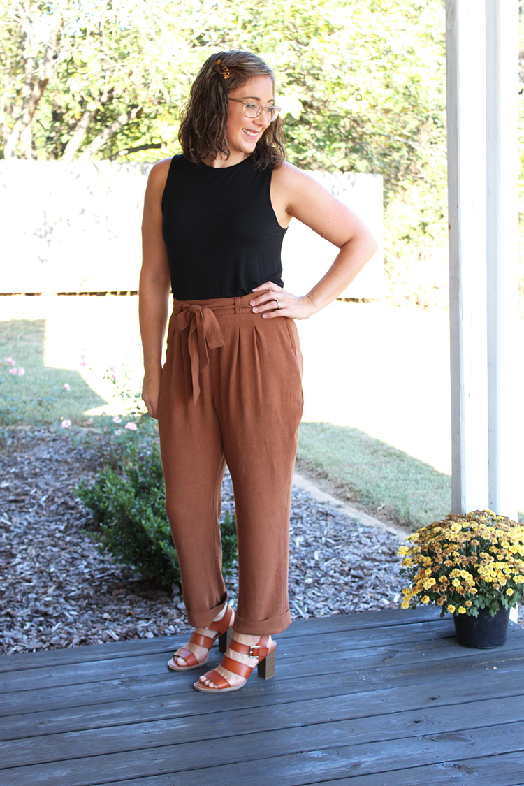 Crew Trousers // Sewing For Women // Sewing Pattern Review