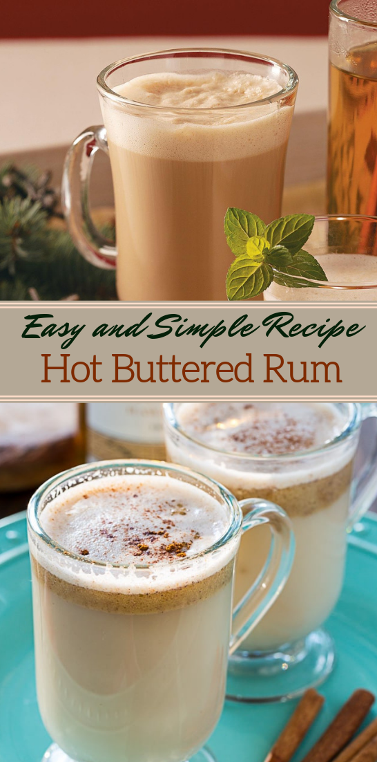 Hot Buttered Rum  #healthydrink #easyrecipe #cocktail #smoothie