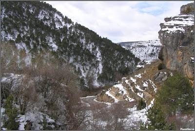 Valle del Río Júcar entre el Molino De La Chorrera y Tragacete