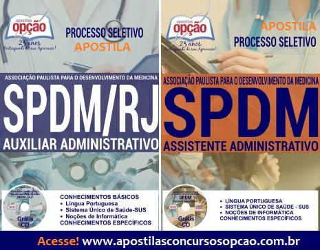 Apostila SPDM RIO 2017(Processo Seletivo RJ)
