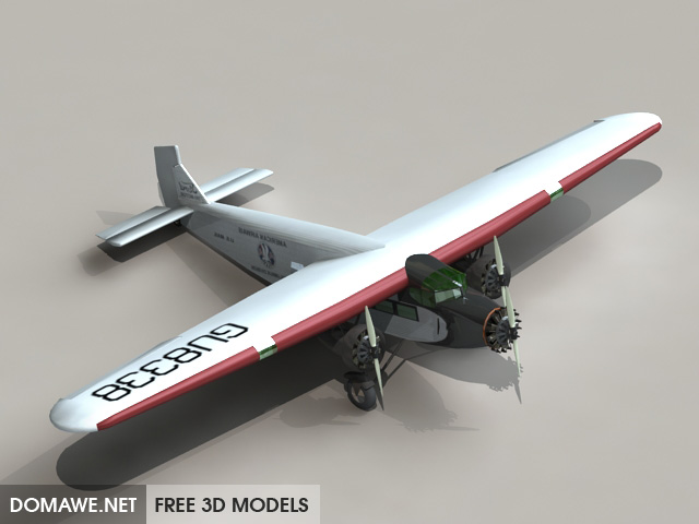 DOMAWE net: FA5 Airplane 3D Model Free Download