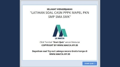 Tryout CPNS Online Gratis PPPK PKN