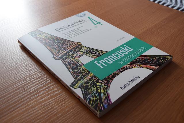 """Recenzje #14 - """"Francuski w tłumaczeniach cz. 4"""" + konkurs - okładka książki pt.""""Francuski w tłumaczeniach cz.4"""" - Francuski przy kawie"""