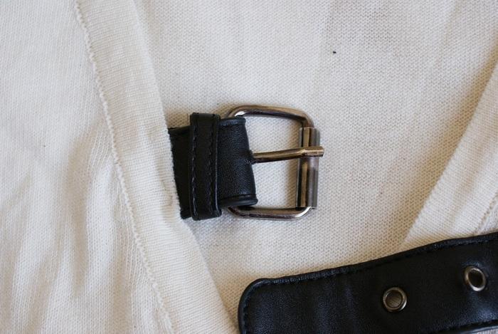 golf maglione fibbia cintura faidate