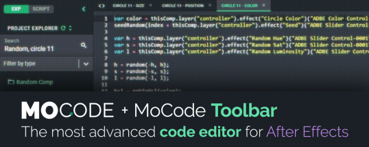 Download MoCode v1.3.4[Aescripts][After Effects][WIN][MAC]