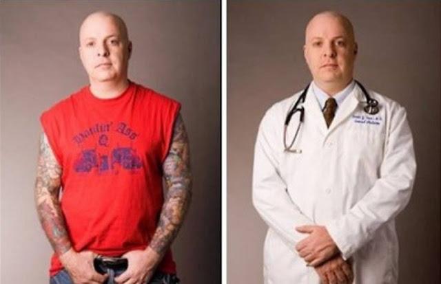 Lembre-se de que as aparências enganam, você nunca sabe qual pessoa pode salvar uma vida