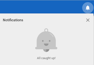 Google AdSense Notification Dashboard