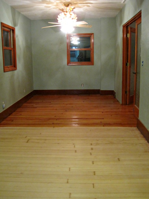 Hardwood floor varnish before and after DIY