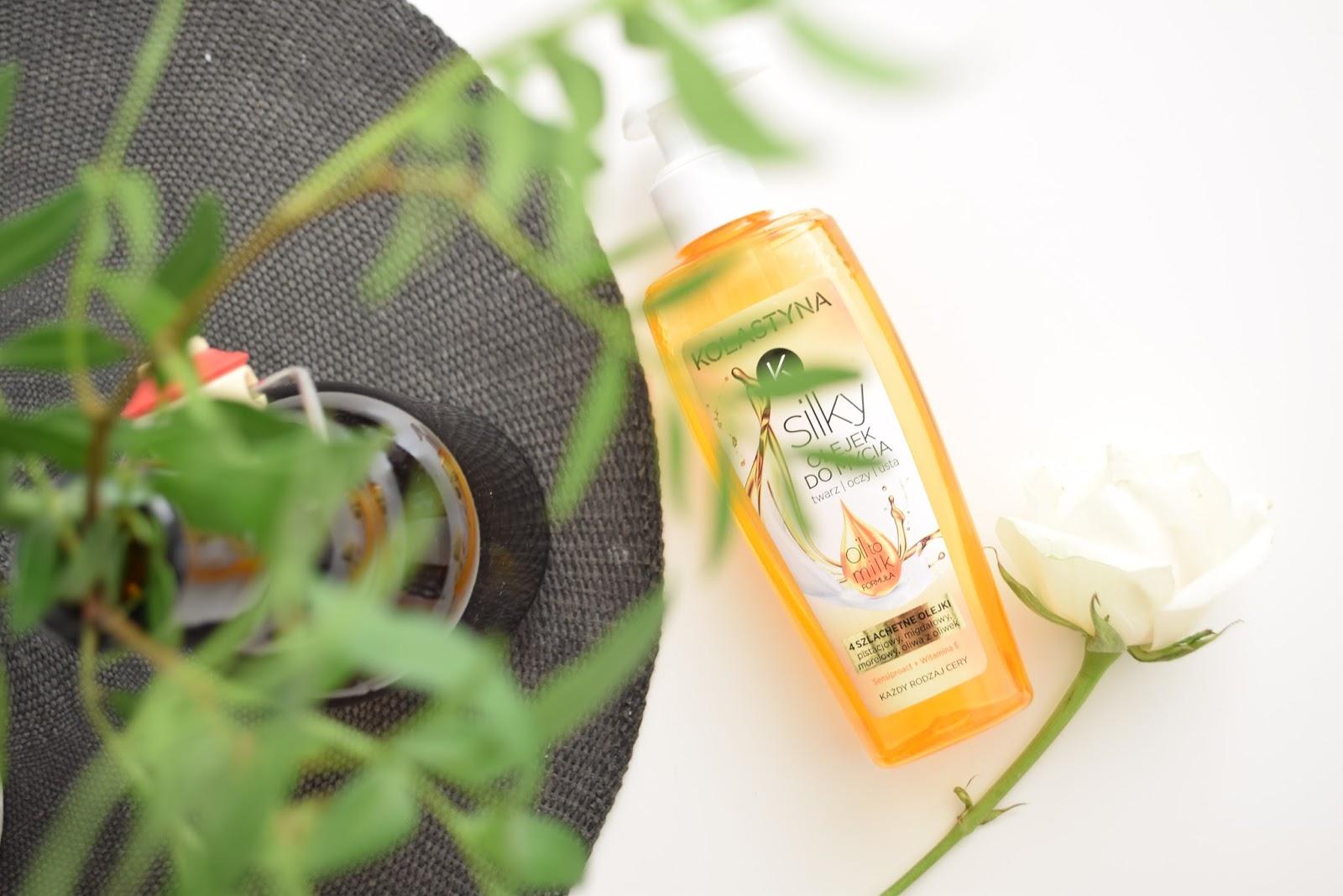 Silky olejek do mycia twarzy Kolastyna