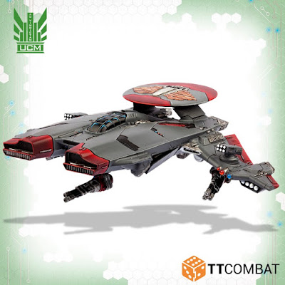 Super Phoenix is a big, heavy gunship