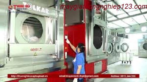 Quy trình giặt mài cho nhà máy sản xuất hàng dệt may công nghiệp.